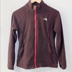 North Face Zip Up Fleece Medium